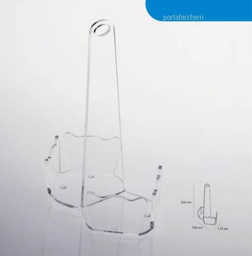 dispencer bicchieri plexiglass