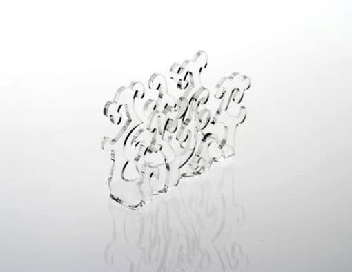 Porta salviettine in plexiglass