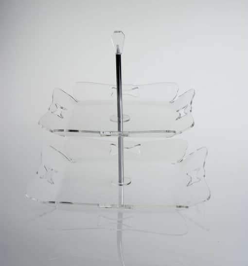 centrotavola trasparente