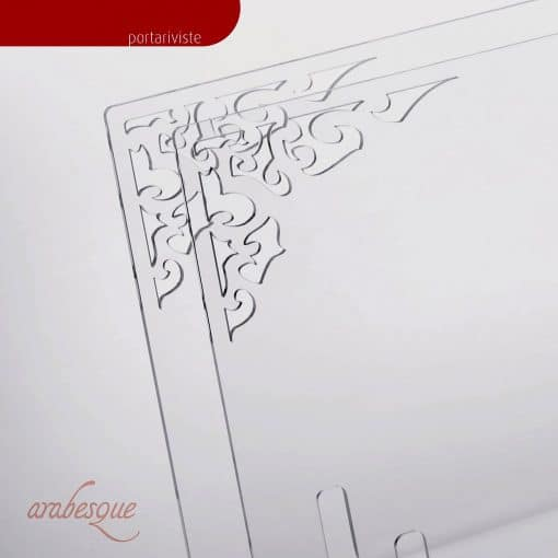 Porta riviste in plexiglass