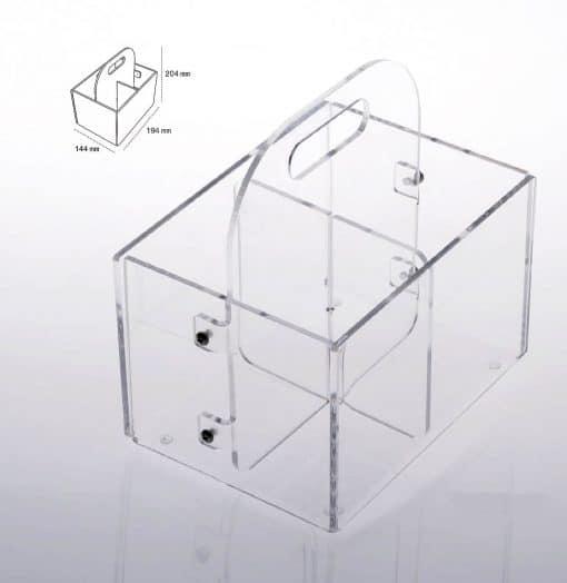 portaposate simply plexiglas