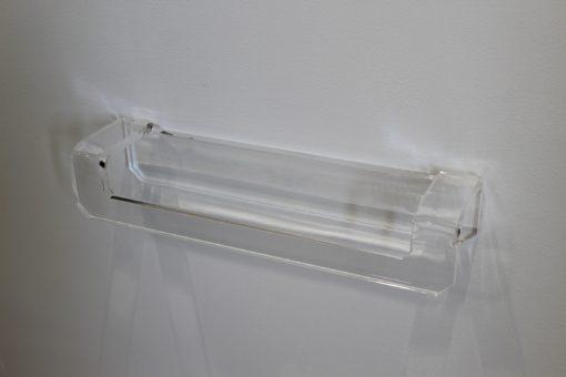 Portaasciugamani in plexiglas per bidet