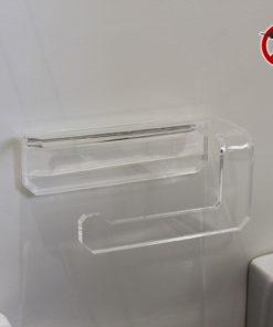 Porta carta igienica senza forare